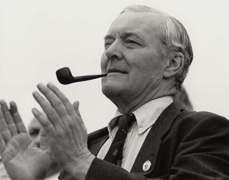 NPG x27668; Tony Benn - Portrait - National Portrait Gallery