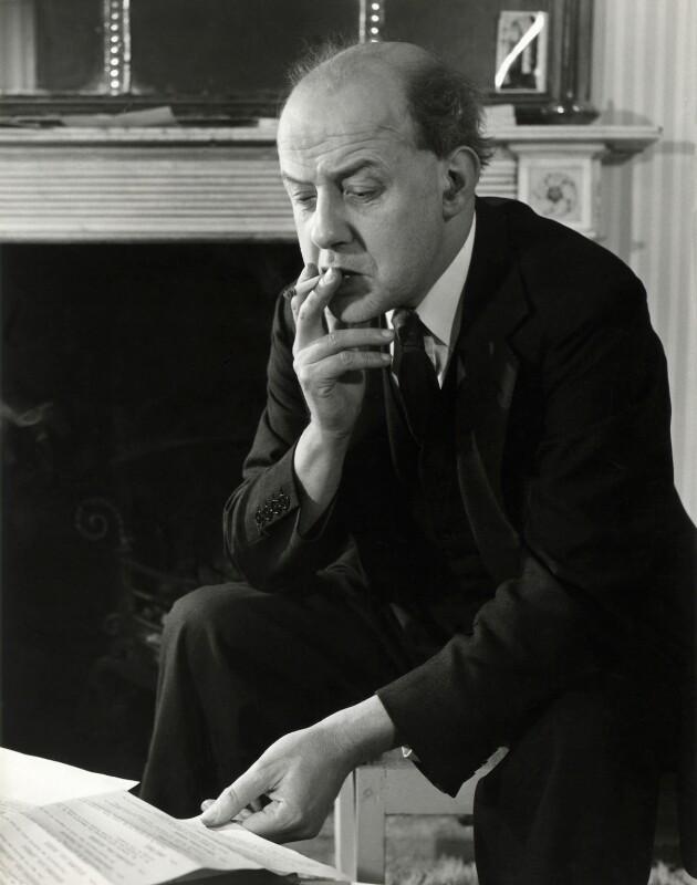 Sir John Betjeman, by John Gay, 1949 - NPG x126620 - © National Portrait Gallery, London