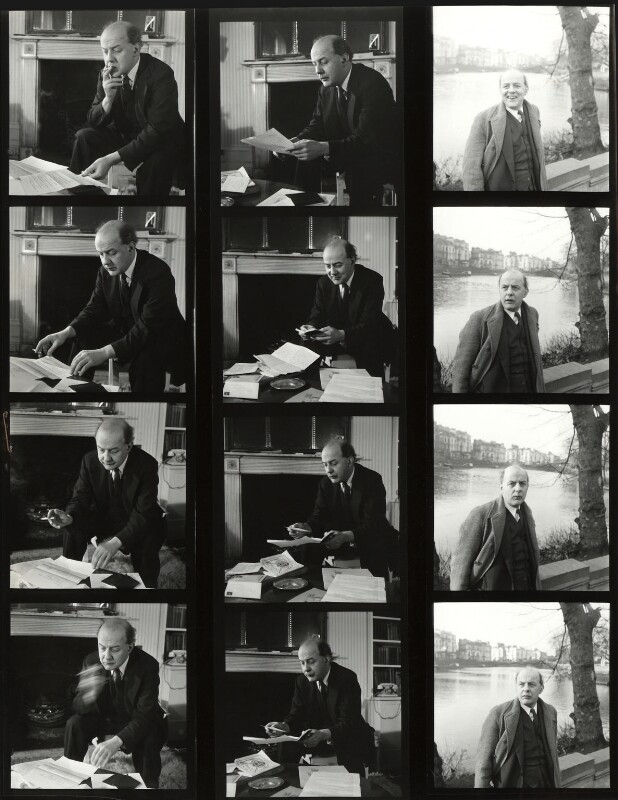 Sir John Betjeman, by John Gay, 1949 - NPG x126621 - © National Portrait Gallery, London