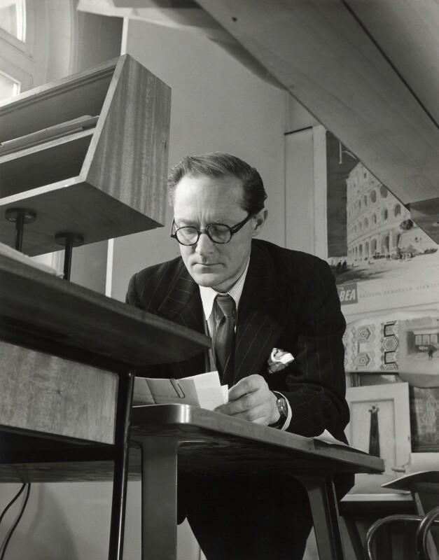 Sir Hugh Maxwell Casson, by John Gay, early 1950s - NPG x126624 - © National Portrait Gallery, London