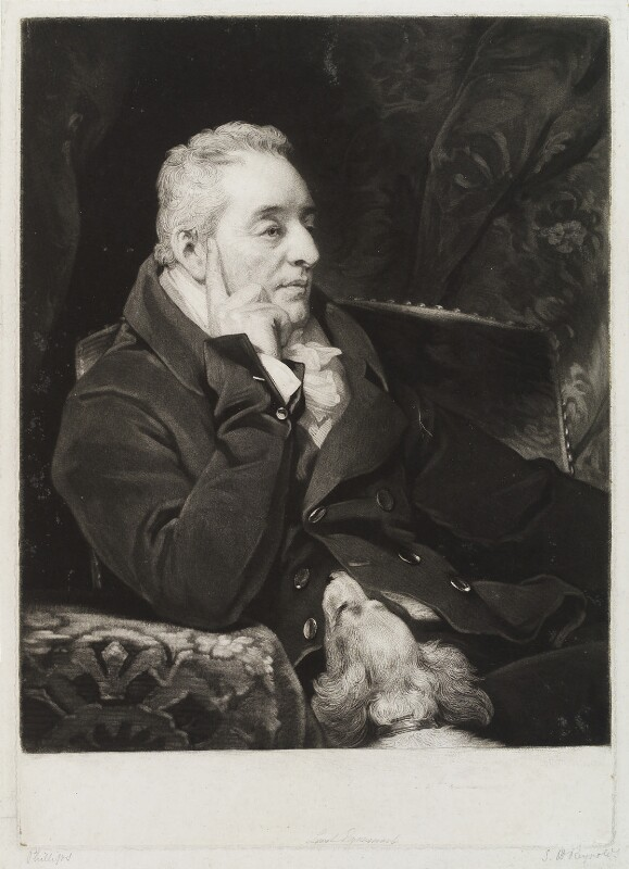 George Wyndham, 3rd Earl of Egremont, by Samuel William Reynolds, after  Thomas Phillips, published 1826 - NPG D20446 - © National Portrait Gallery, London