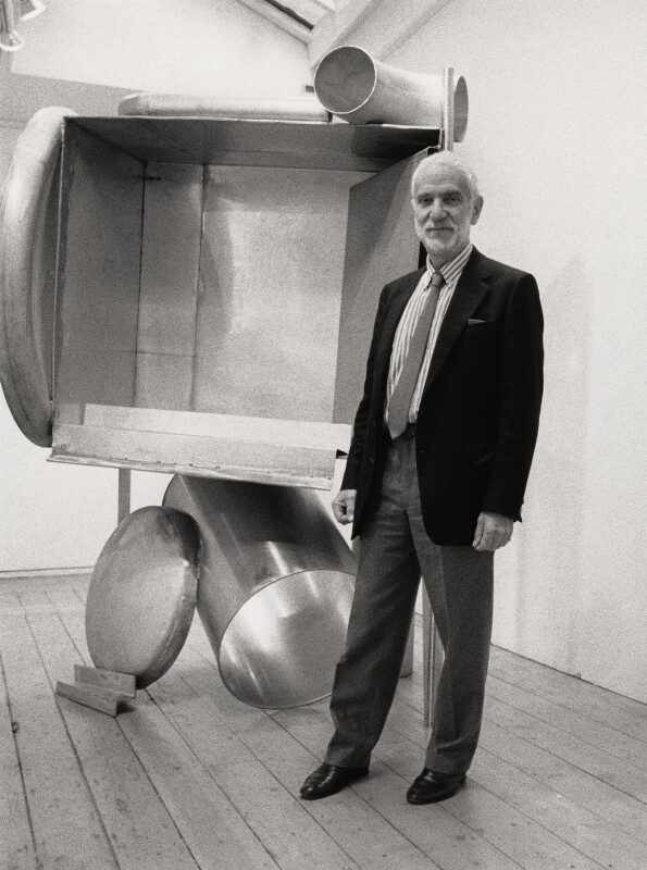 Anthony Caro, by George Newson, 28 September 1989 - NPG x35729 - © George Newson / Lebrecht Music & Arts