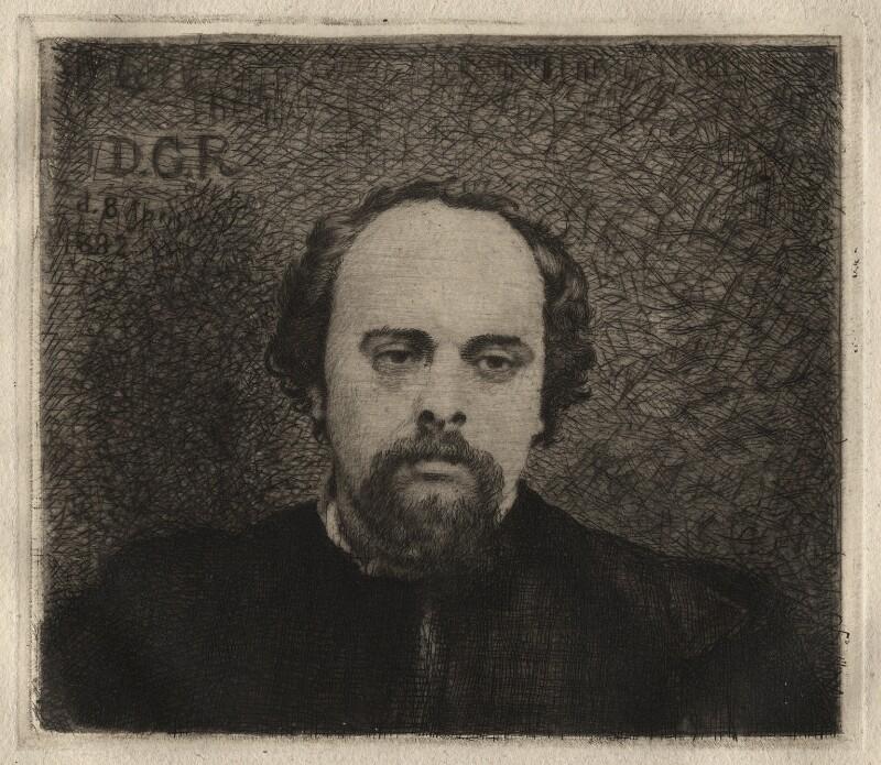 Dante Gabriel Rossetti, after Unknown artist, 1882 or after - NPG D16901 - © National Portrait Gallery, London