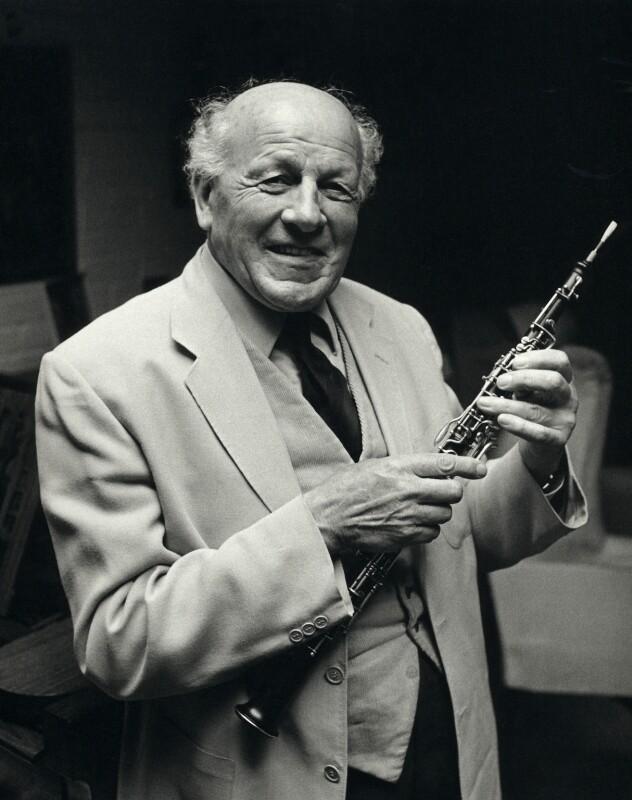 Leon Jean Goossens, by Clive Barda, July 1977 - NPG x45144 - © Clive Barda