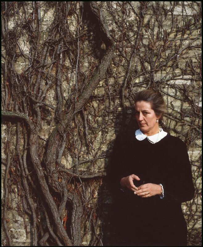 Germaine Greer, by Chris Hay, March 1987 - NPG x29579 - © Chris Hay