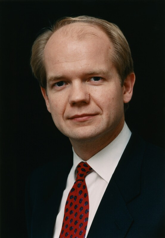 Image shows a young William Hague -  one time leader of the British Conservative Party