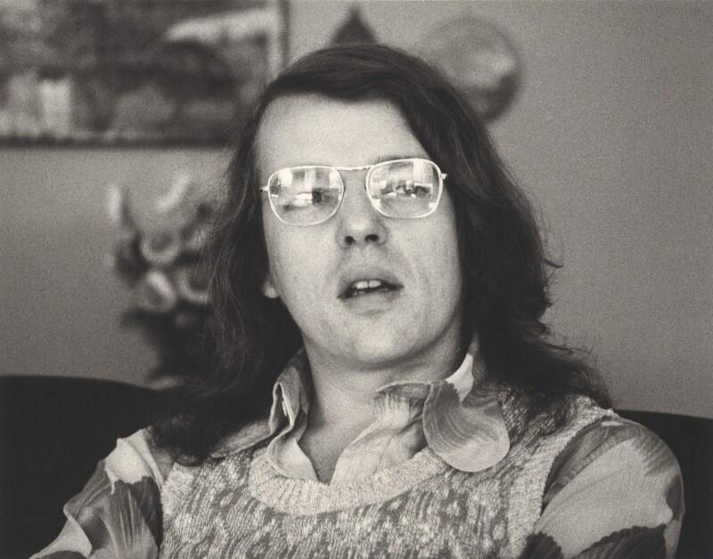 Christopher James Hampton, by Nicholas Elder, September 1974 - NPG x4042 - © Nicholas Elder