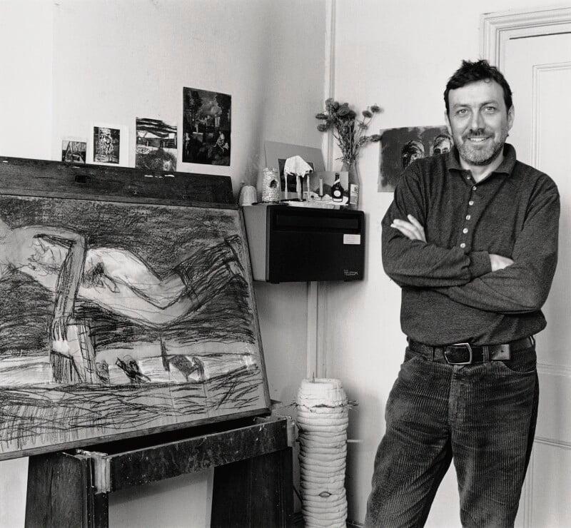 Andrzej Aleksander Jackowski, by George Newson, 15 April 1991 - NPG x38238 - © George Newson / Lebrecht Music & Arts