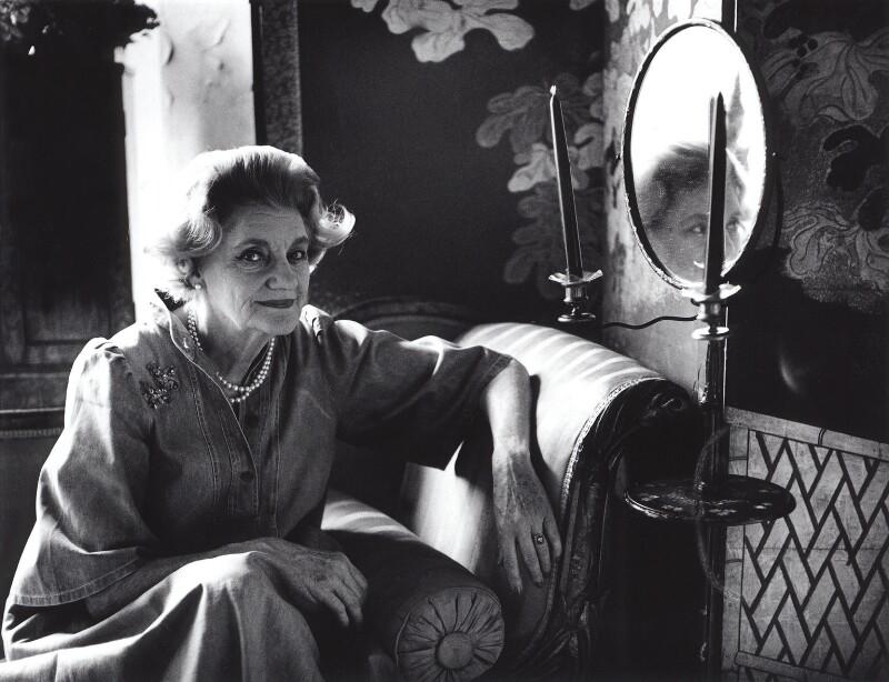 Patricia Christine Jellicoe (née O'Kane), Countess Jellicoe, by Lucinda Douglas-Menzies, 1983 - NPG x29765 - © Lucinda Douglas-Menzies / National Portrait Gallery, London