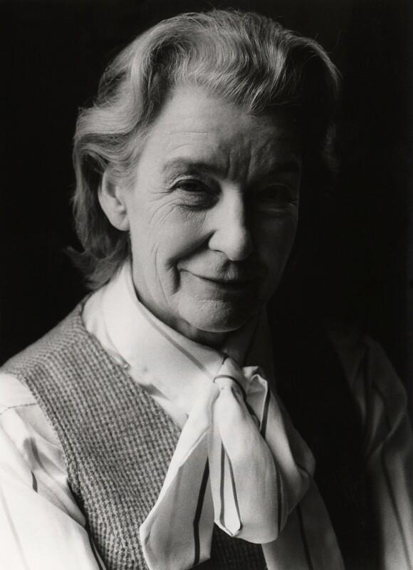 Jacquetta Hawkes, by Tara Heinemann, 1979 - NPG x22177 - © Tara Heinemann