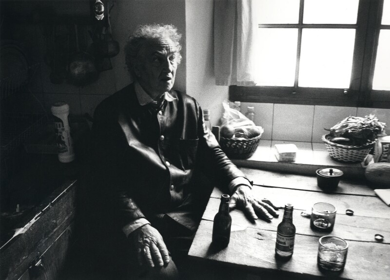 Robert Graves, by Mel Stern, 18 October 1972 - NPG x1591 - © reserved; collection National Portrait Gallery, London