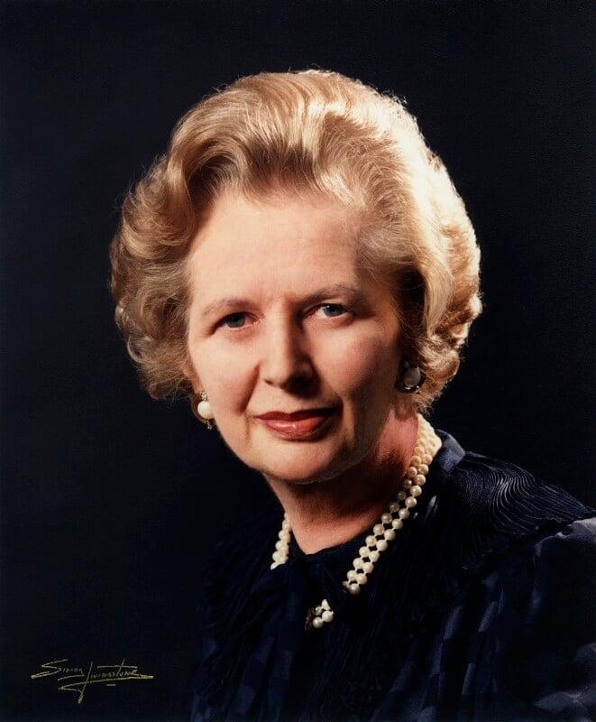 Npg X29875 Margaret Thatcher Portrait National Portrait Gallery