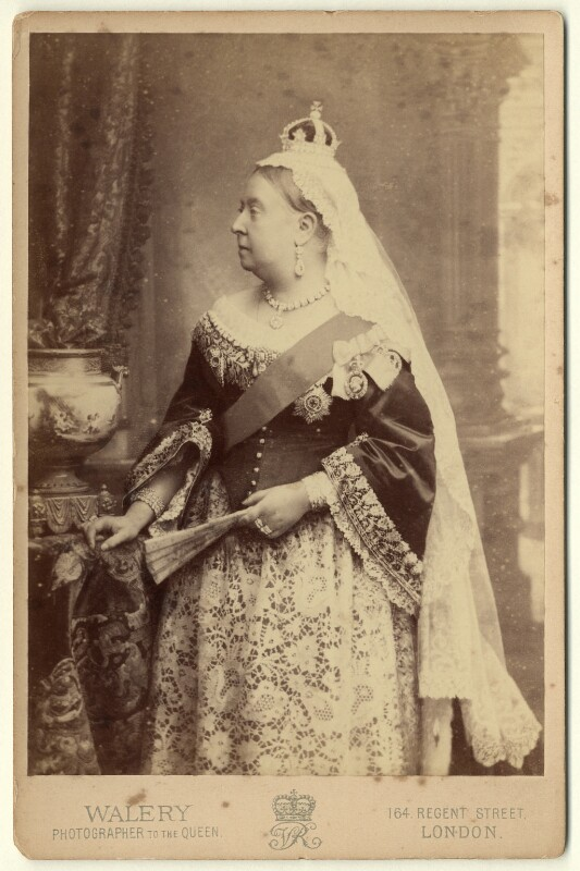 Queen Victoria, by Walery, 1887 - NPG x3799 - © National Portrait Gallery, London