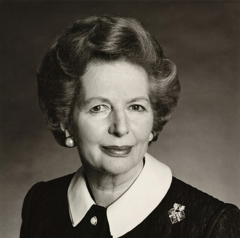 Margaret Thatcher, by Michael Birt, 14 May 1990 - NPG x35905 - © Michael Birt
