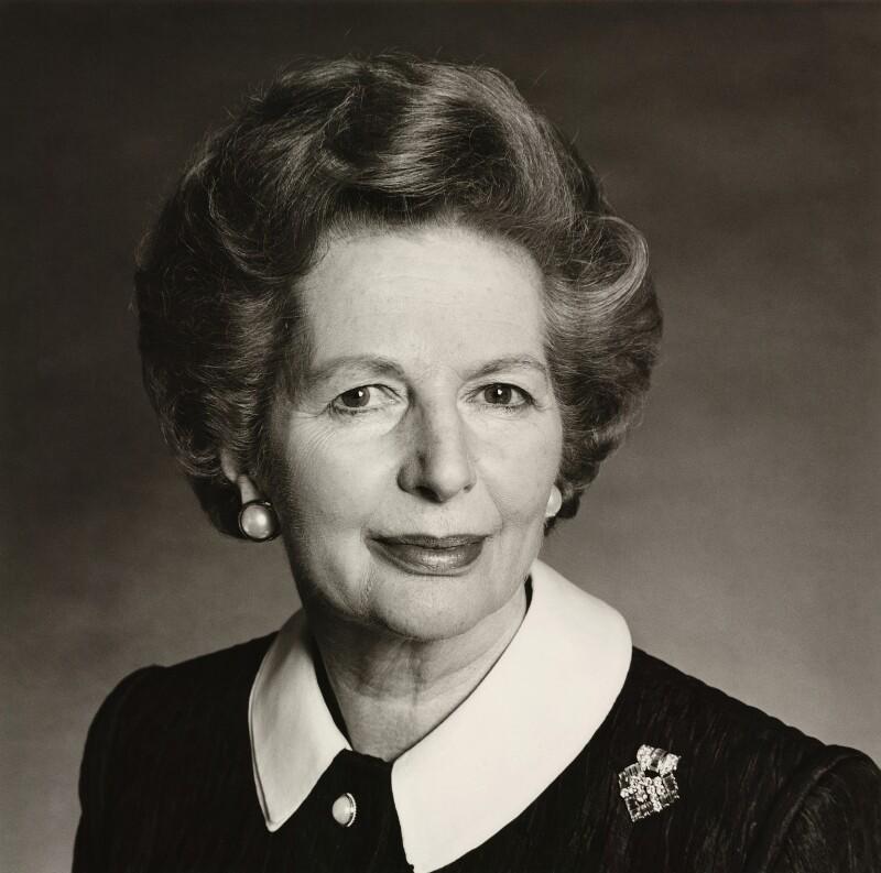 Margaret Thatcher, by Michael Birt, 14 May 1990 - NPG x35905 - © Michael Birt