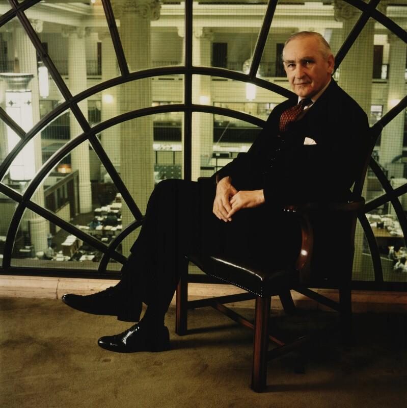 Thomas Gray Boardman, Baron Boardman, by Philip Bier, 10 November 1989 - NPG x35955 -
