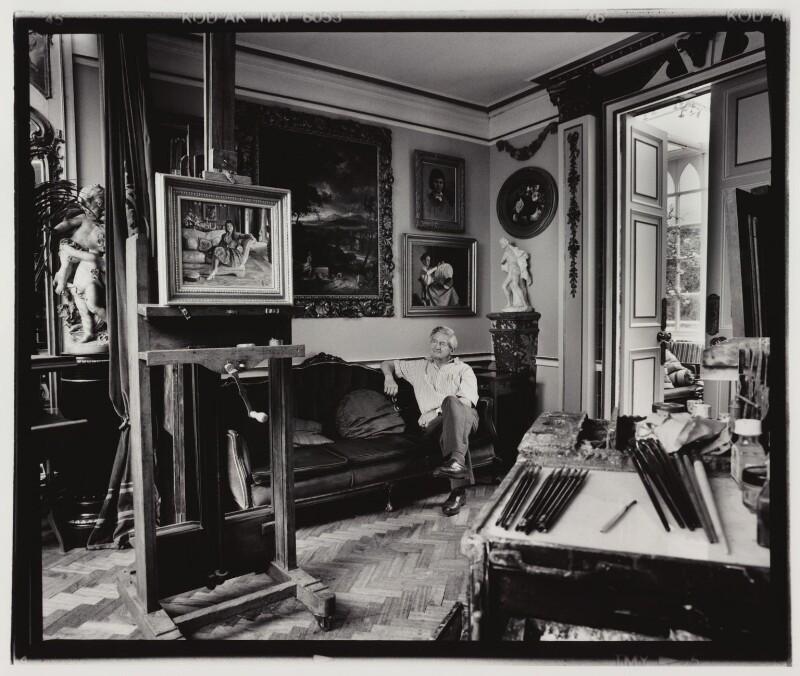 Carlos Luis Sancha, by David Bennett, 28 July 1994 - NPG x76348 - © David Bennett/ National Portrait Gallery, London