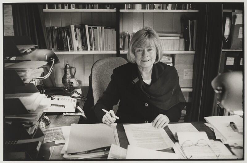 Margaret Anne Ewing, by Victoria Carew Hunt, 1998 - NPG x88084 - © Victoria Carew Hunt / National Portrait Gallery, London