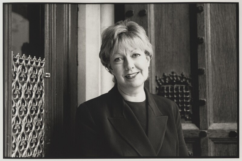 Janet Anderson, by Victoria Carew Hunt, 1998 - NPG x88085 - © Victoria Carew Hunt / National Portrait Gallery, London