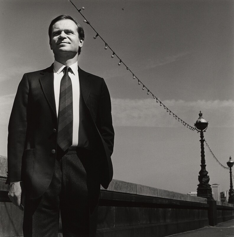 Jeffrey Howard Archer, Baron Archer of Weston-Super-Mare, by Stephen Hyde, 1 May 1986 - NPG x31680 - © Stephen Hyde / National Portrait Gallery, London