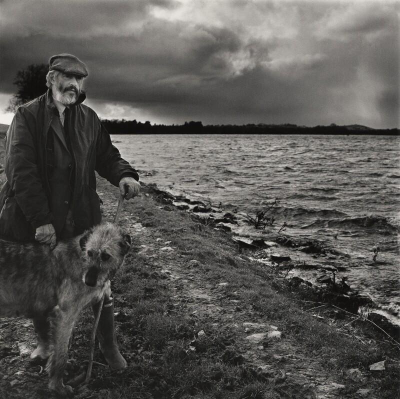 J.P. Donleavy, by Stephen Hyde, 1983 - NPG x24940 - © Stephen Hyde / National Portrait Gallery, London