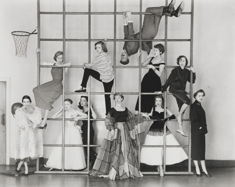 The Young Look in the Theatre, by Norman Parkinson, 1953 - NPG x30113 - © Norman Parkinson Archive