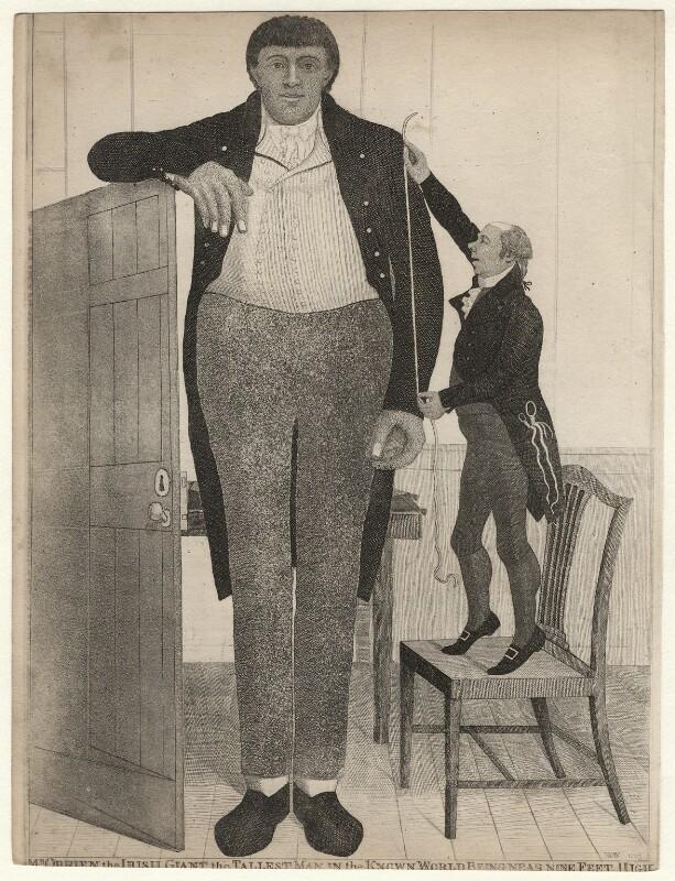 Patrick Cotter (Patrick O'Brien); William Ranken, by John Kay, 1803 - NPG D16959 - © National Portrait Gallery, London