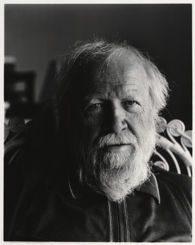 Sir William Gerald Golding, by Paul Joyce, May 1977 - NPG x13430 - © Paul Joyce / National Portrait Gallery, London