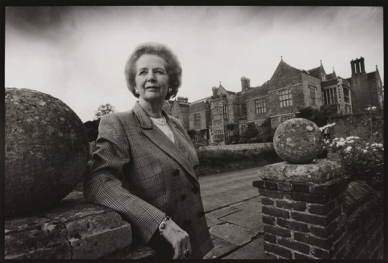 Margaret Thatcher, by Jeff Overs, August 1993 - NPG x76177 - © Jeff Overs