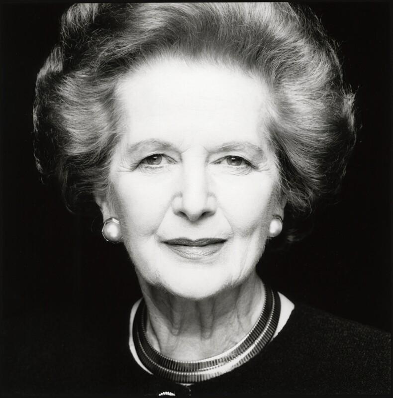 Margaret Thatcher, by Fergus Greer, 1995 - NPG x126810 - © Fergus Greer