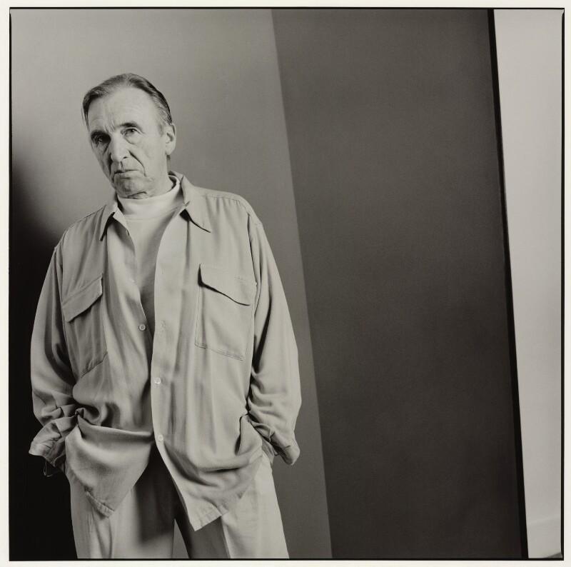 William Turnbull, by Nicholas Sinclair, 1992 - NPG x77016 - © Nicholas Sinclair / DACS