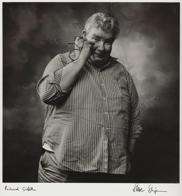 Richard Griffiths, by Steve Shipman, circa 1990 - NPG x47275 - © Steve Shipman / National PortraitGallery, London