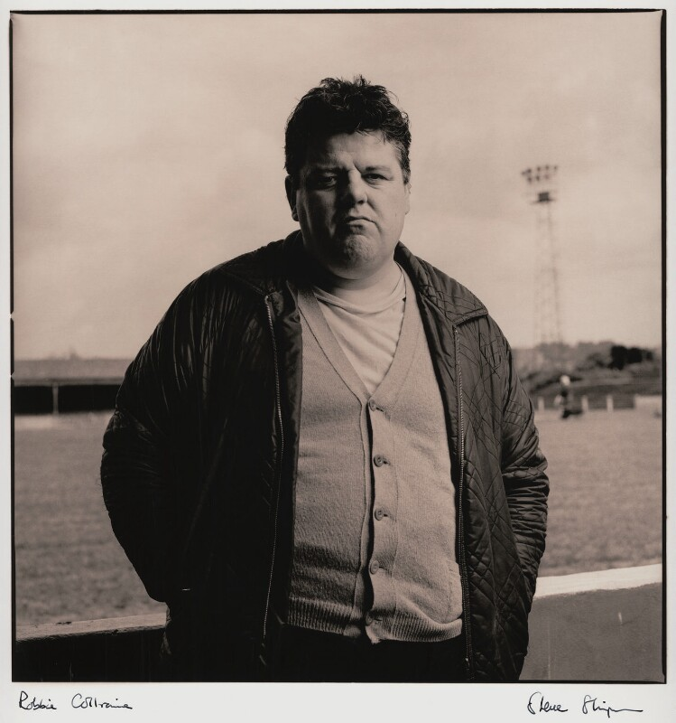 Robbie Coltrane, by Steve Shipman, June 1991 - NPG x47273 - © Steve Shipman / National PortraitGallery, London