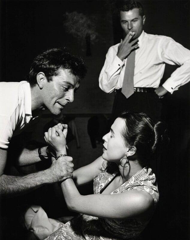 Michael Pickersgill Benthall; Richard Burton as Hamlet; Claire Bloom as Ophelia, by Norman Parkinson, 1953 - NPG x30028 - © Norman Parkinson Archive