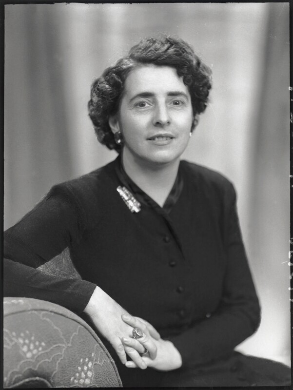 Margaret McKay, by Elliott & Fry, 5 June 1951 - NPG x100080 - © National Portrait Gallery, London