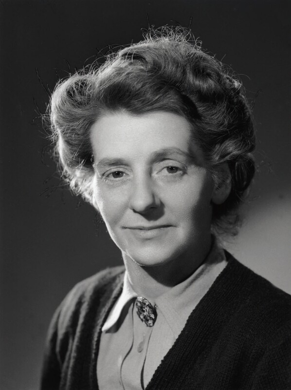 Freda Kunzlen Corbet (née Mansell, later Campbell), by Bassano Ltd, 7 February 1947 - NPG x77220 - © National Portrait Gallery, London