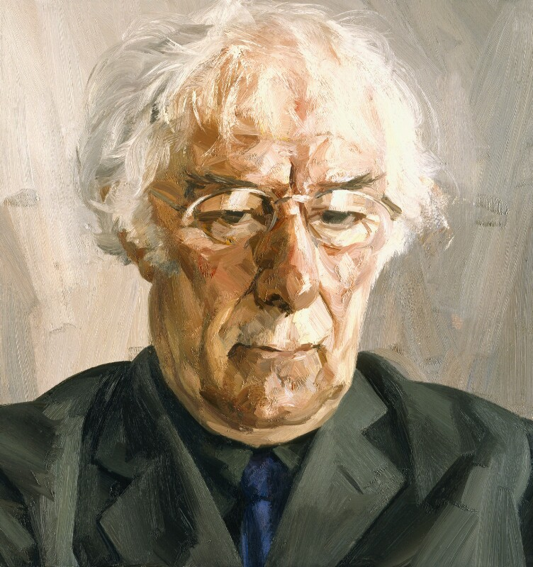 Seamus Heaney, by Tai-Shan Schierenberg, 2004 - NPG 6703 - © Tai-Shan Schierenberg / National Portrait Gallery, London