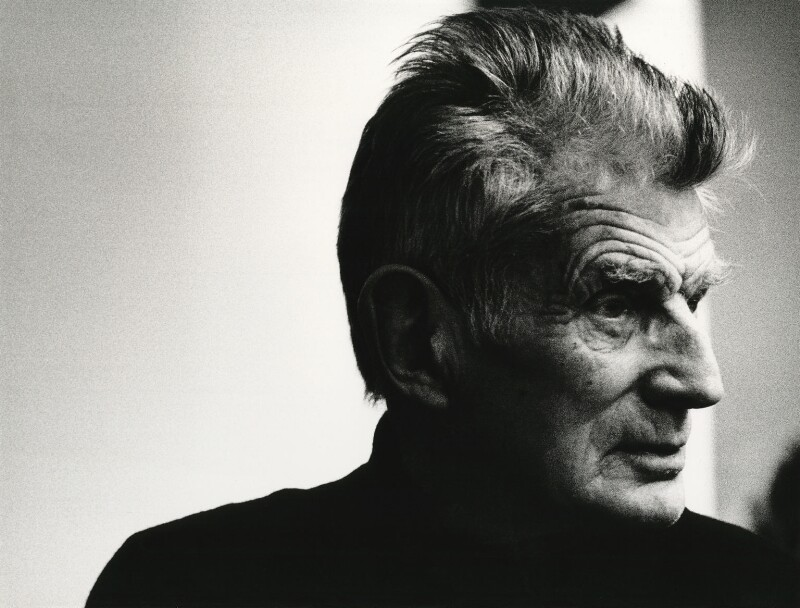 Samuel Beckett, by John Minihan, 1982 - NPG x29012 - © John Minihan / National Portrait Gallery, London