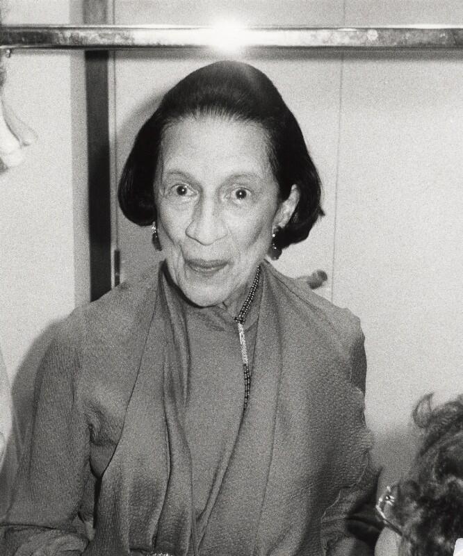 Diana Vreeland, by Norman Parkinson, 1978 - NPG x30145 - © Norman Parkinson Archive