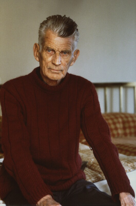 Samuel Beckett, by John Minihan, 1980 - NPG x29010 - © John Minihan / National Portrait Gallery, London
