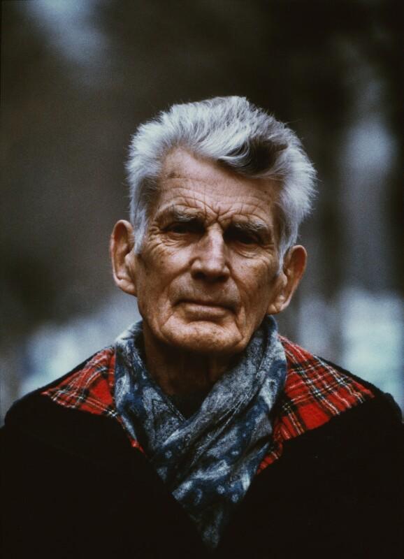 Samuel Beckett, by John Minihan, 1985 - NPG x29009 - © John Minihan / National Portrait Gallery, London