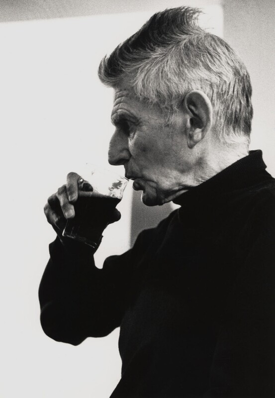 Samuel Beckett, by John Minihan, 1984 - NPG x28997 - © John Minihan / National Portrait Gallery, London