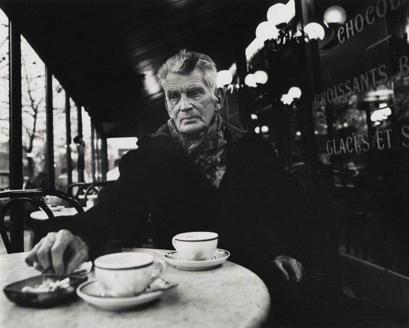 Samuel Beckett, by John Minihan, December 1985 - NPG x29006 - © John Minihan / National Portrait Gallery, London