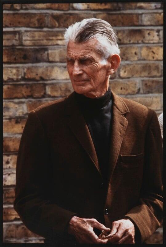Samuel Beckett, by John Minihan, 1984 - NPG x29011 - © John Minihan / National Portrait Gallery, London