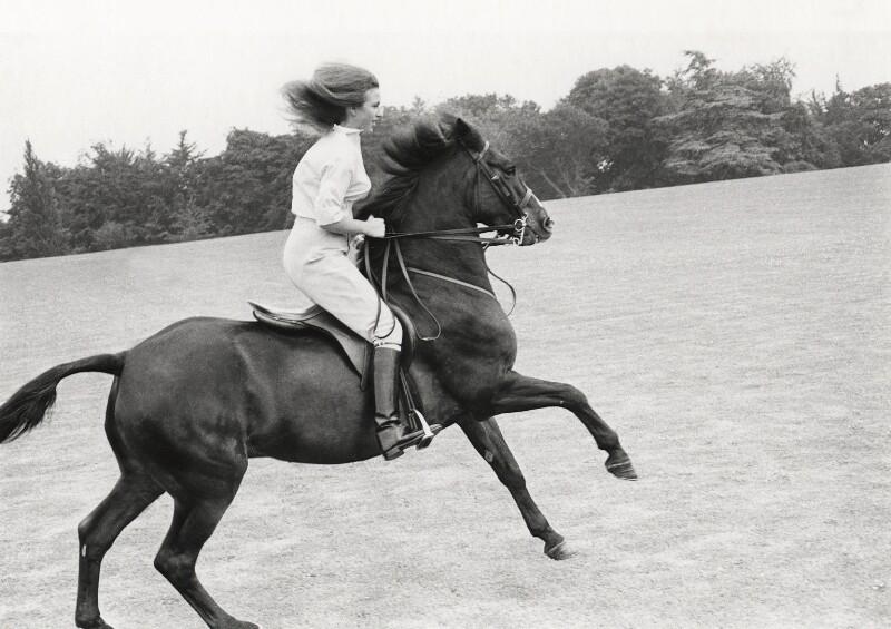 Princess Anne, by Norman Parkinson, 1969 - NPG x26083 - © Norman Parkinson Archive
