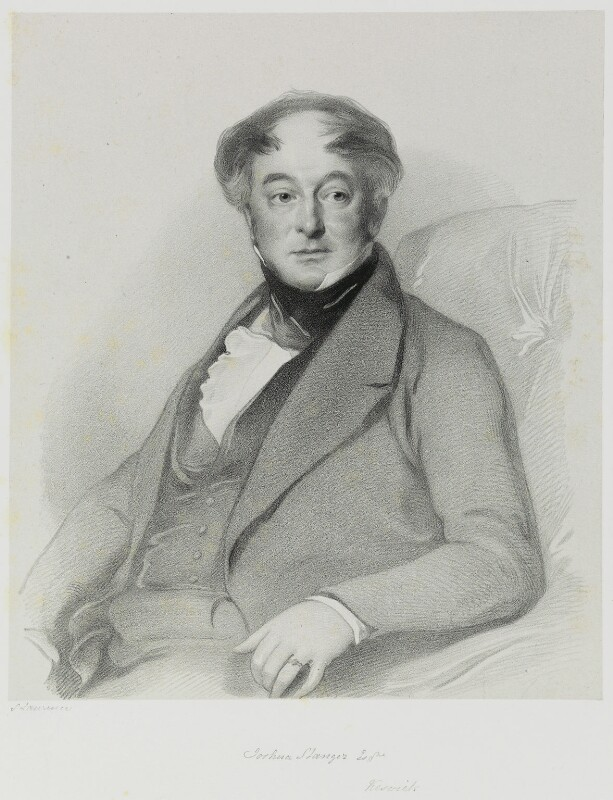 Joshua Stanger, by Richard James Lane, after  Samuel Laurence, circa 1845 - NPG D21678 - © National Portrait Gallery, London