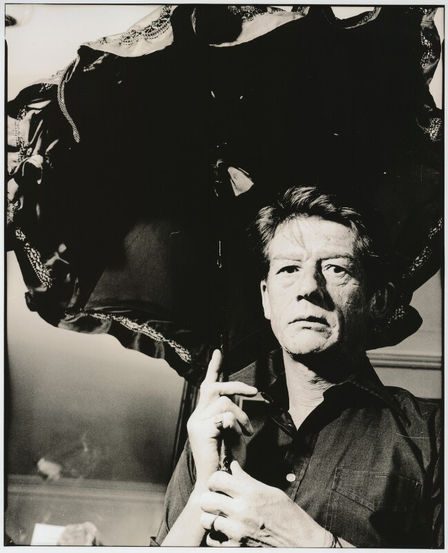 Sir John Hurt, by Alastair Thain, 1986 - NPG x26022 - © Alastair Thain