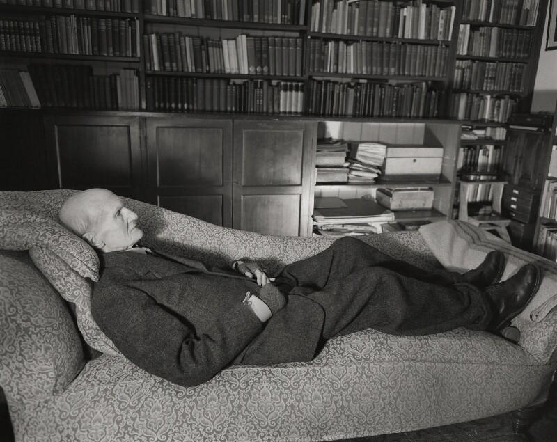 (George) Gilbert Aimé Murray, by Norman Parkinson, 1957 - NPG x30064 - © Norman Parkinson Archive/ Iconic Images