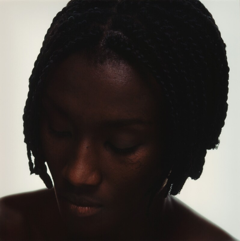 Jacqui Agyepong, by Alistair Morrison, March 1996 - NPG x77042 - © Alistair Morrison