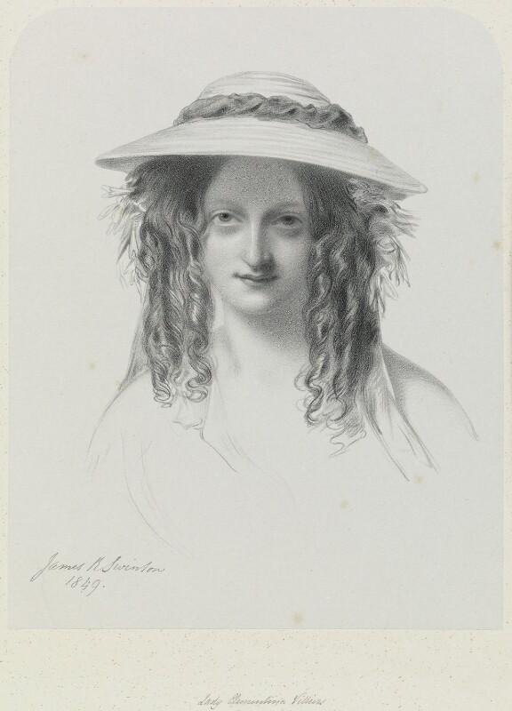 Lady Clementina Augusta Wellington Villiers, by Richard James Lane, after  James Rannie Swinton, 1849 (1849) - NPG D21724 - © National Portrait Gallery, London